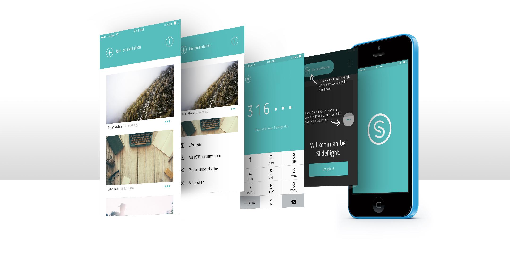 Slideflight App